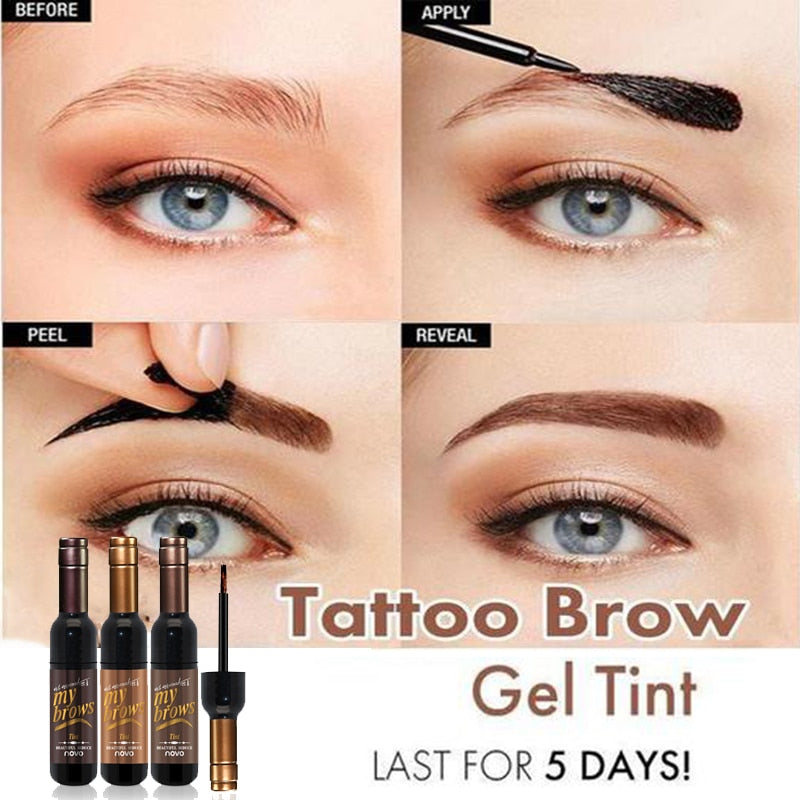 Tattoo Brow Tint Waterproof Long-lasting - makeupwinner
