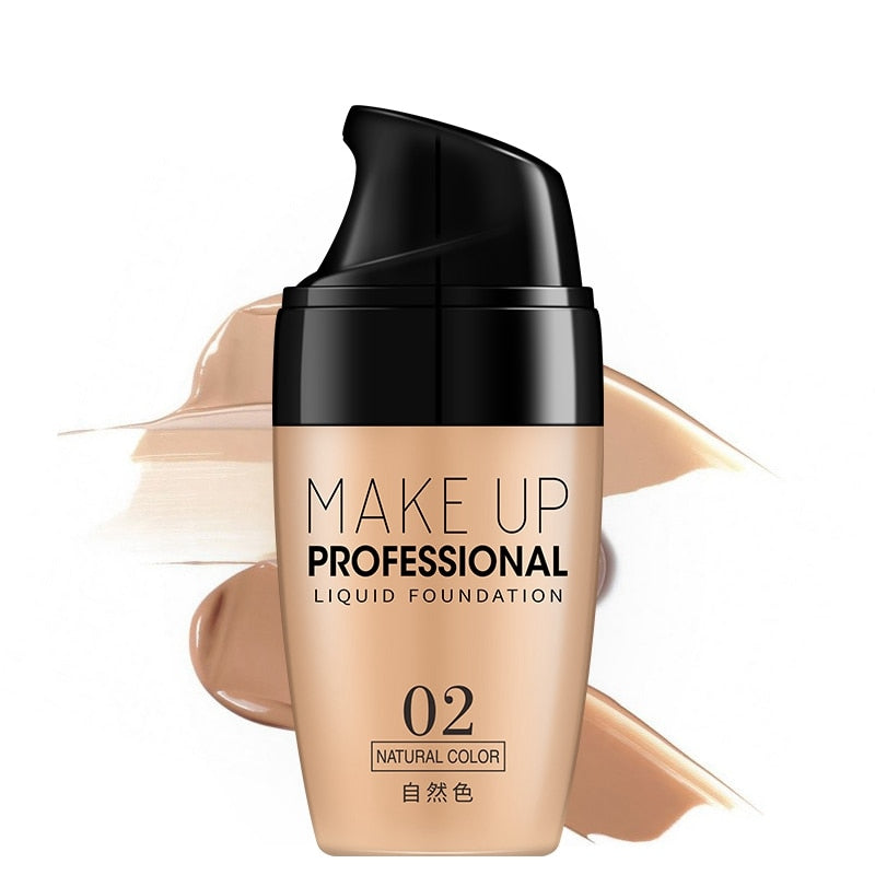 Natural Base Liquid Foundation Waterproof - makeupwinner