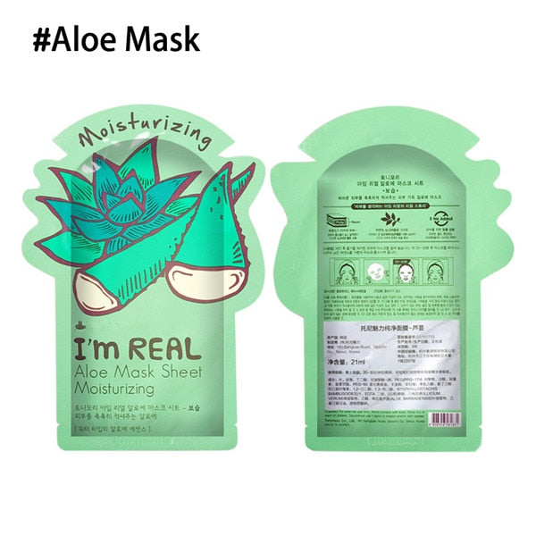 Premium Facial Mask Sheet-  Korean Cosmetics - makeupwinner