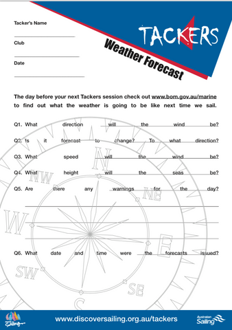 Weather Report Activity Sheet