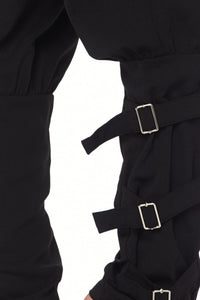 On The Fence Pants (Black)