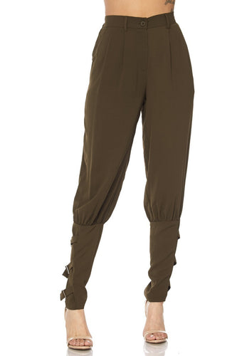 On The Fence Pants (Olive)