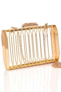 Cage Clutch (Gold)