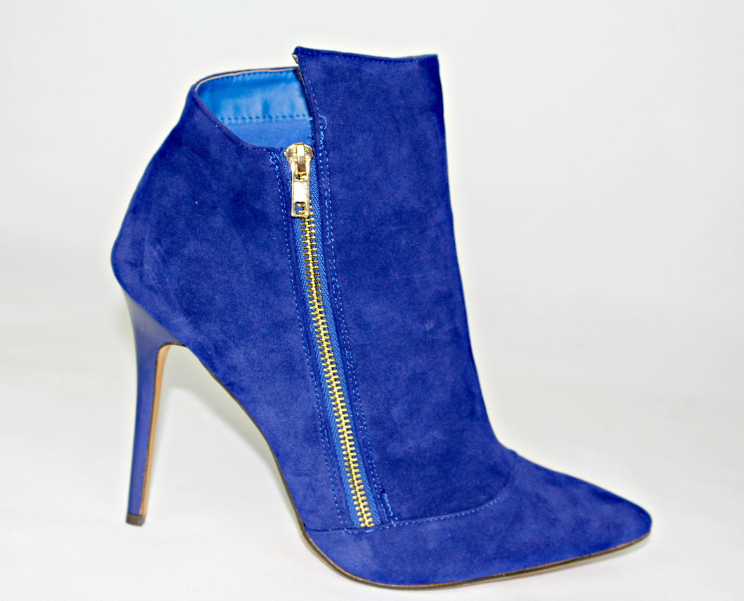 Quinn Bootie (Royal Blue)