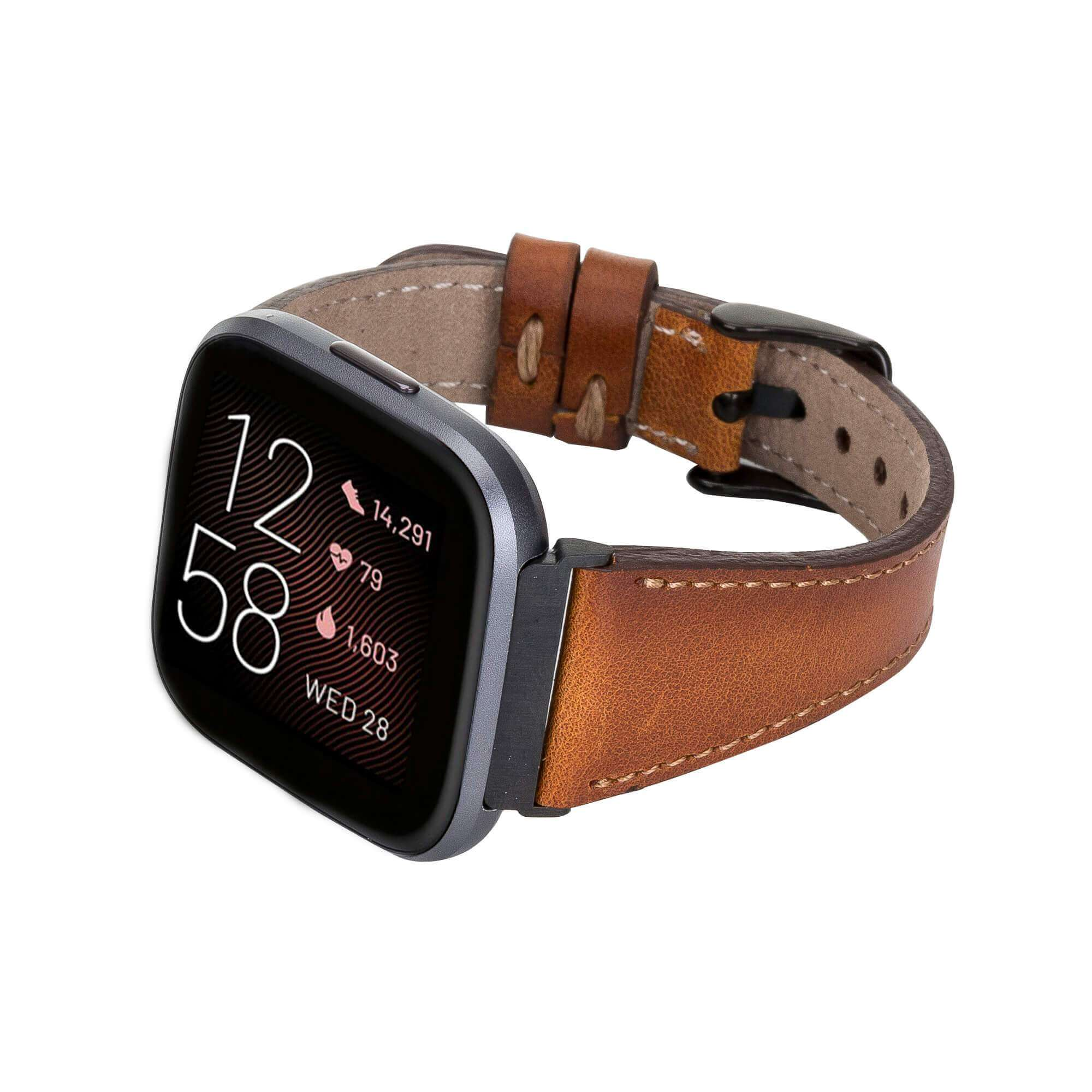 Leather Fitbit Watch Bands