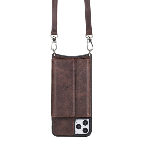 leather phone cases office crossbody
