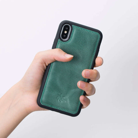 Leather phone cases office Lucca