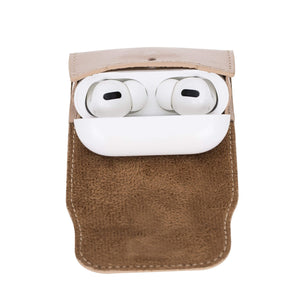 Bari Pro Leather Cover for Apple AirPods Pro Charging Case