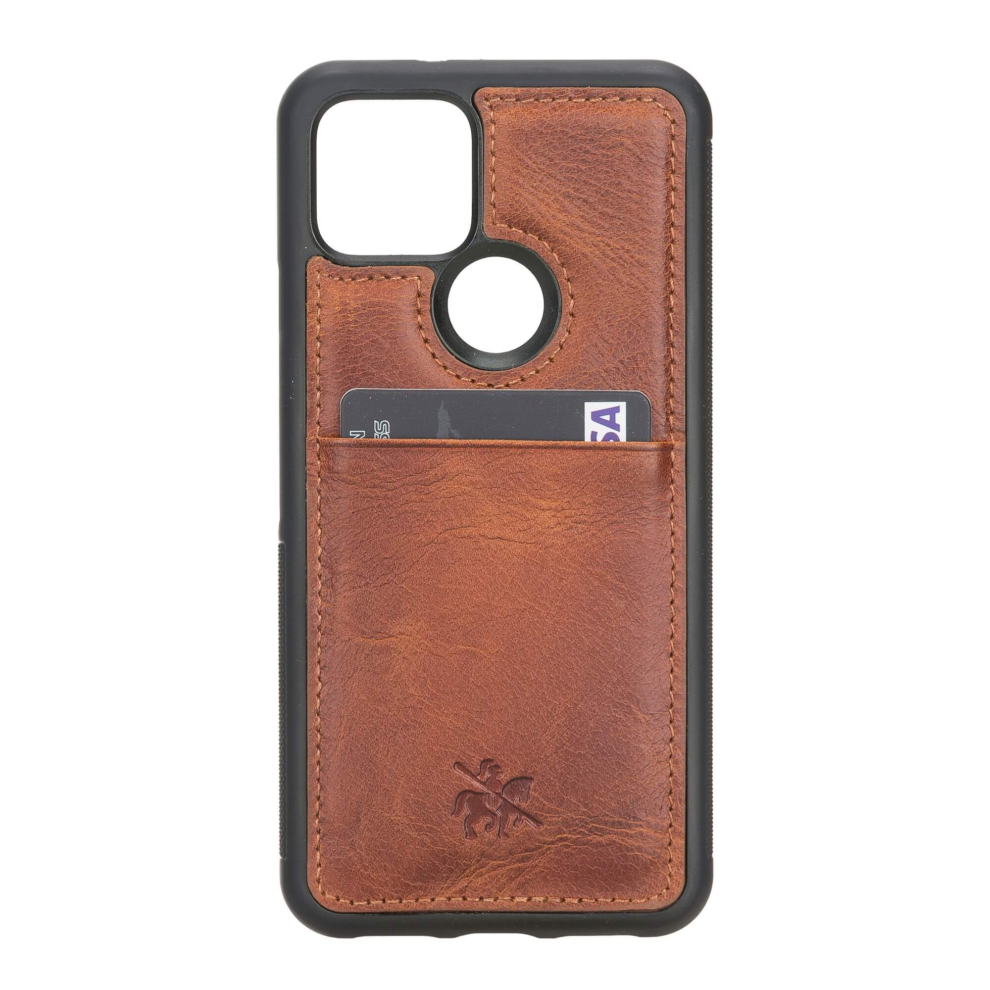 Capri Snap On Leather Wallet Case for Google Pixel 5