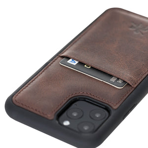 Capri Snap On Leather Wallet Case for iPhone 11 Pro