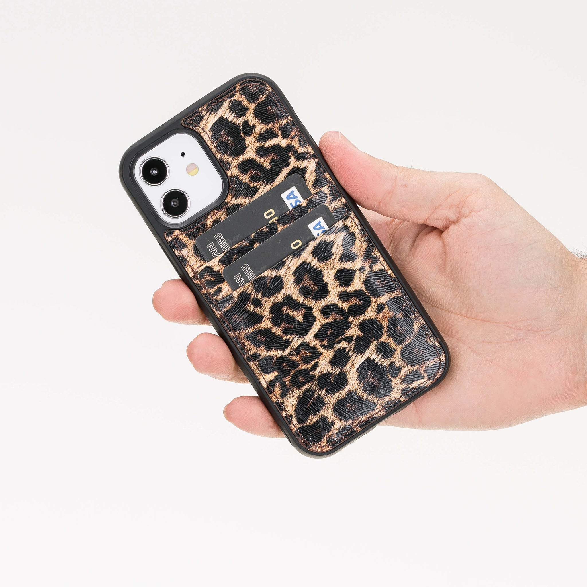 Best Capri Snap On Leather Wallet Case For iPhone 12 Mini
