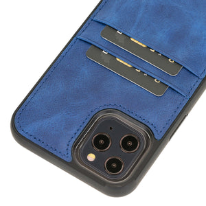 Capri Snap On Leather Wallet Case for iPhone 12 Pro