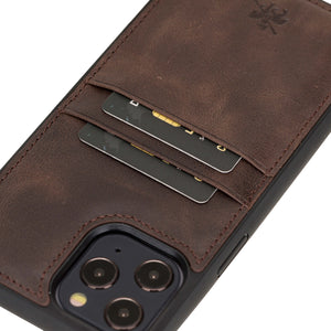 Capri Snap On Leather Wallet Case for iPhone 12 Pro Max
