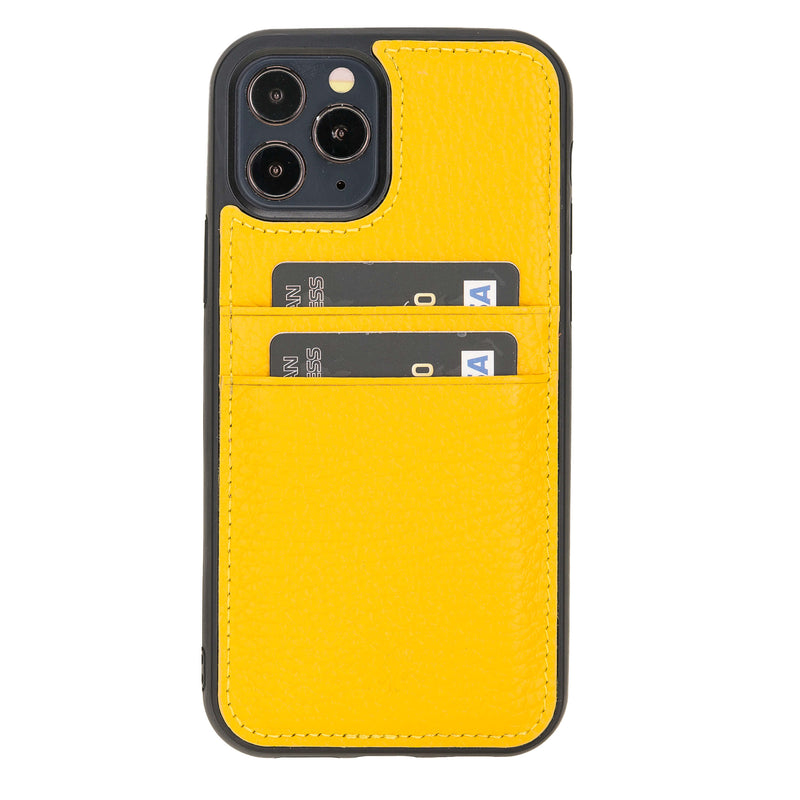 Best Capri Snap On Leather Wallet Case For iPhone 12 Pro