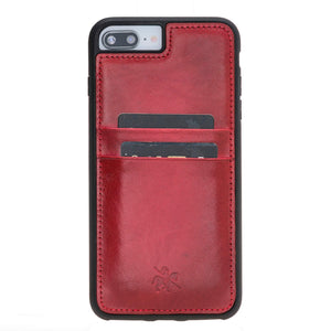 Capri Snap On Leather Wallet Case for iPhone 7 Plus
