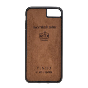 Capri Snap On Leather Wallet Case for iPhone 8