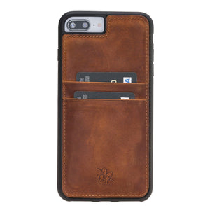 Capri Snap On Leather Wallet Case for iPhone 8 Plus