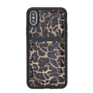 Capri Snap On Leather Wallet Case for iPhone X
