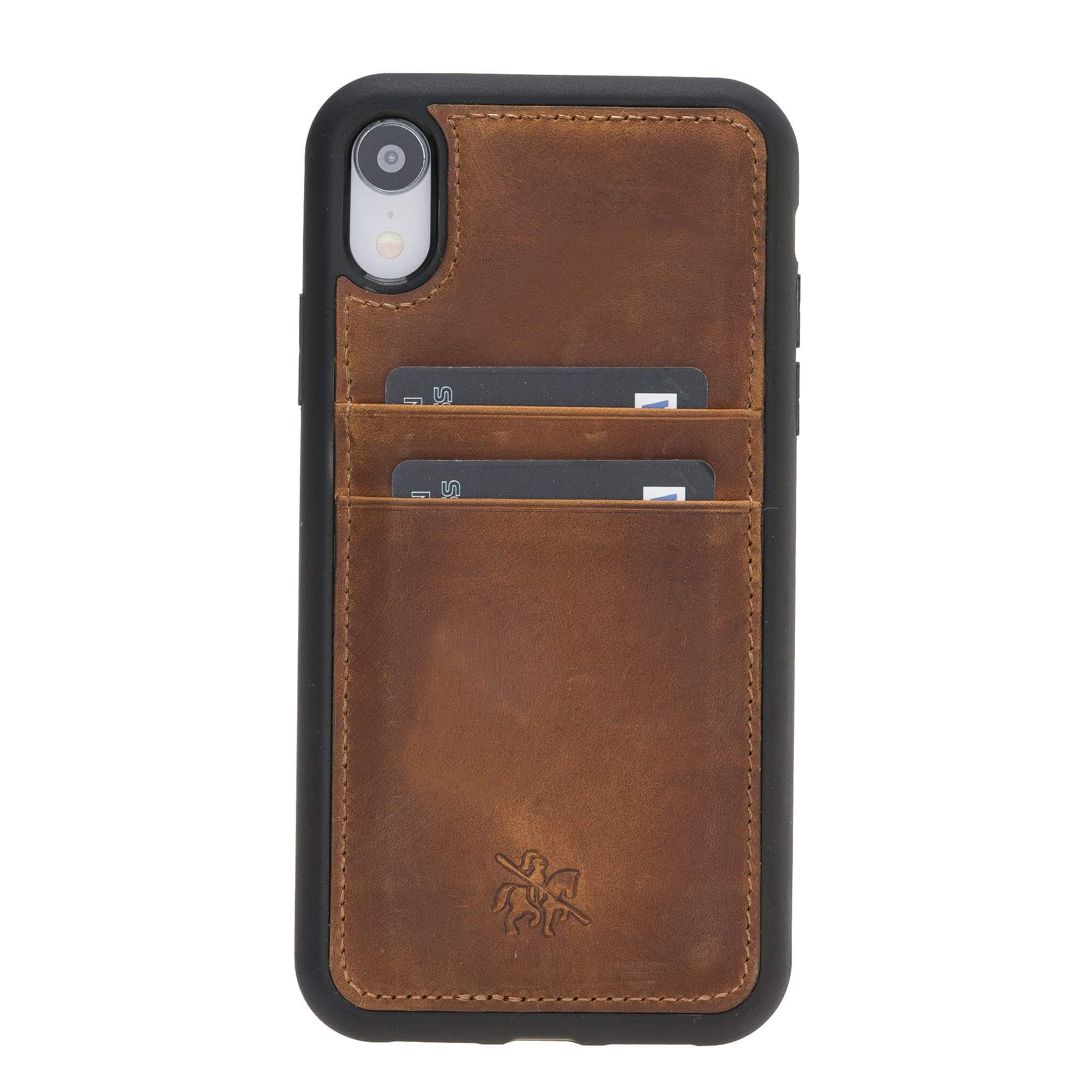 Capri Snap On Leather Wallet Case for iPhone XR