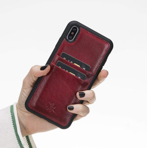 Capri Snap On Leather Wallet Case for iPhone XS Max
