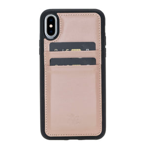 Capri Snap On Leather Wallet Case for iPhone XS