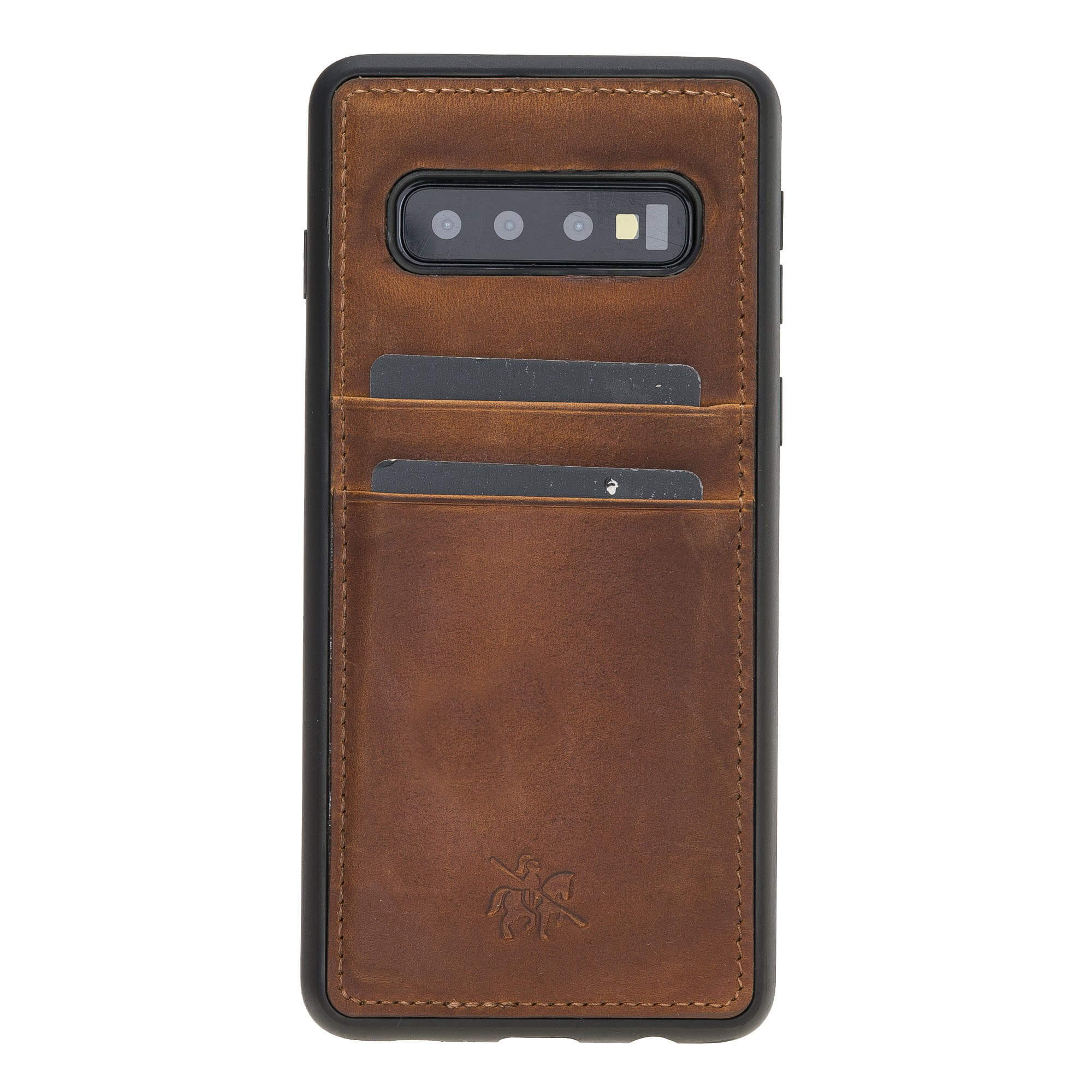 Capri Snap On Leather Wallet Case for Samsung Galaxy S10