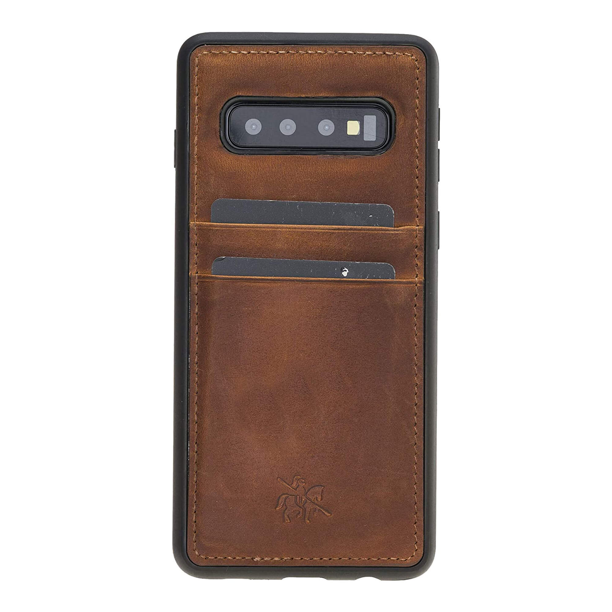 Capri Snap On Leather Wallet Case for Samsung Galaxy S10 Plus