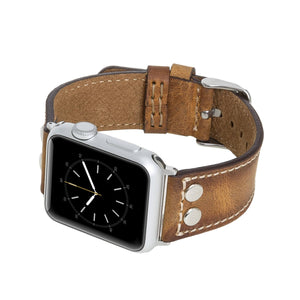 Como Leather Band Strap for Apple Watch