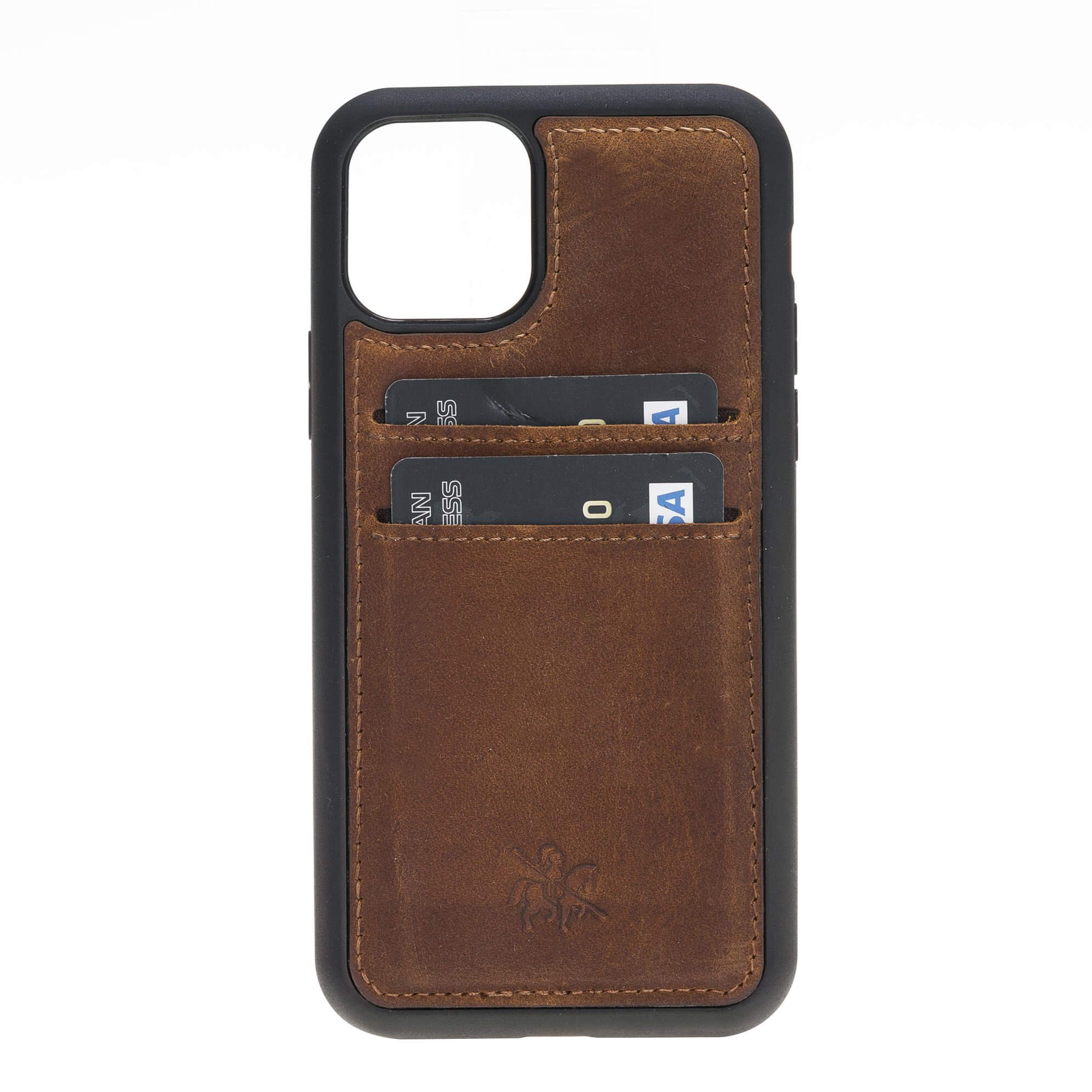 Cosa Snap On Leather Wallet Case for iPhone 11 Pro