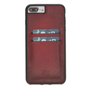 Cosa Snap On Leather Wallet Case for iPhone 7 Plus