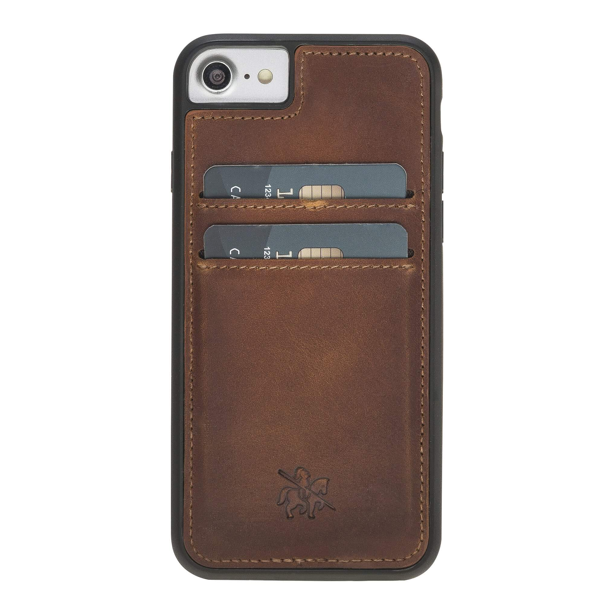 Cosa Snap On Leather Wallet Case for iPhone 8