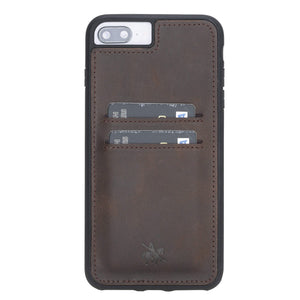 Cosa Snap On Leather Wallet Case for iPhone 8 Plus