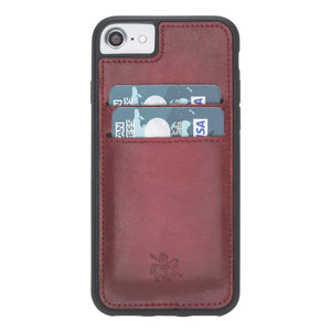 Cosa Snap On Leather Wallet Case for iPhone SE 2020