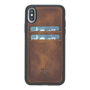 Cosa Snap On Leather Wallet Case for iPhone X