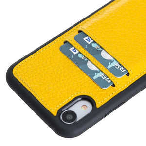 Cosa Snap On Leather Wallet Case for iPhone XR