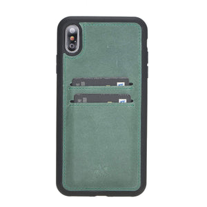 Cosa Snap On Leather Wallet Case for iPhone XS Max