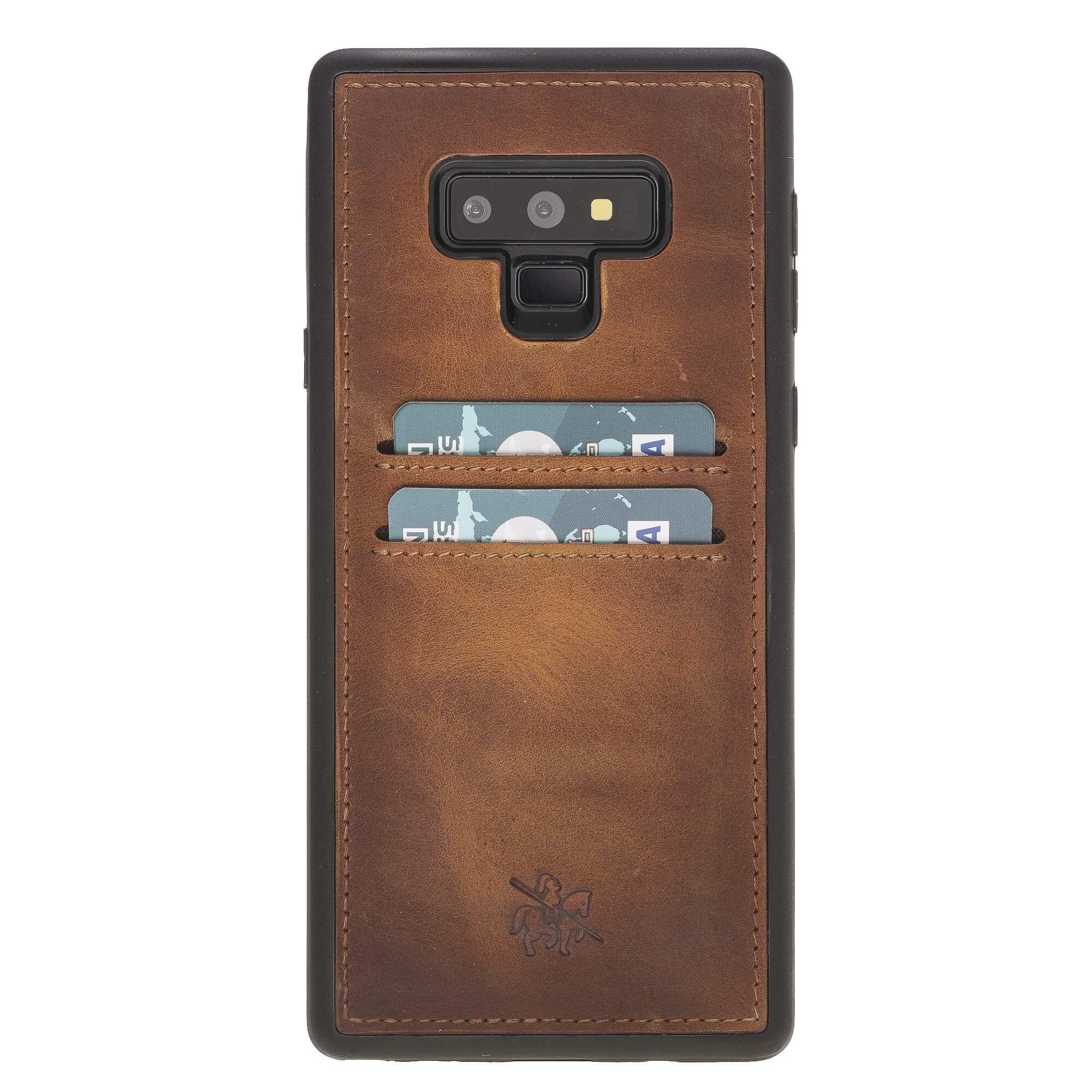 Cosa Snap On Leather Wallet Case for Samsung Galaxy Note 9
