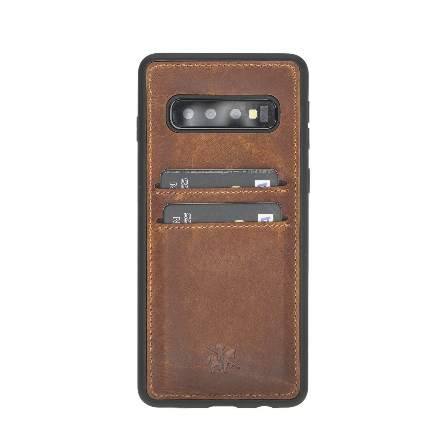 Cosa Snap On Leather Wallet Case for Samsung Galaxy S10