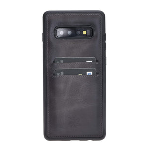 Cosa Snap On Leather Wallet Case for Samsung Galaxy S10 Plus