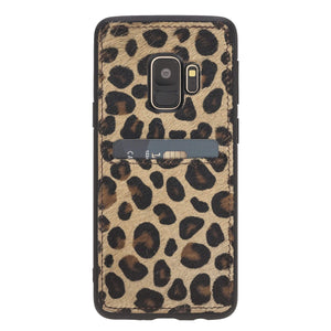 Cosa Snap On Leather Wallet Case for Samsung Galaxy S9