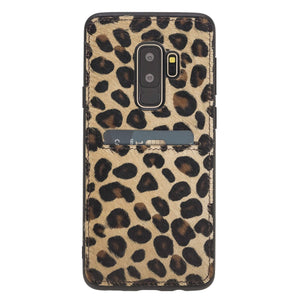 Cosa Snap On Leather Wallet Case for Samsung Galaxy S9 Plus