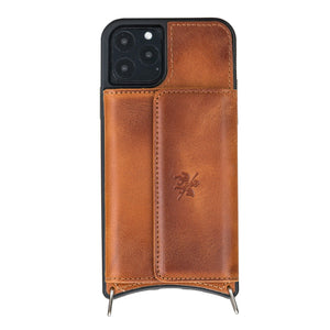 Fano Leather Crossbody Wallet Case for iPhone 11 Pro