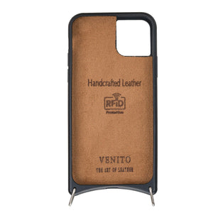Fano Leather Crossbody Wallet Case for iPhone 11 Pro Max