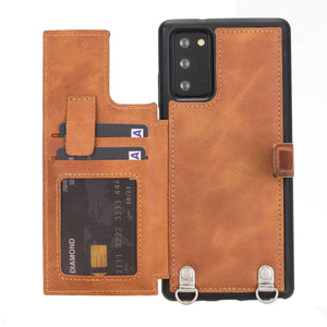 Fermo Leather Crossbody Wallet Phone Case for Galaxy Note 20