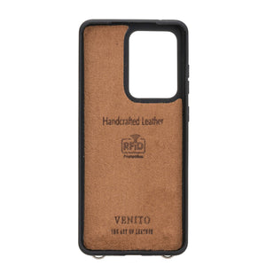 Fermo Leather Crossbody Wallet Phone Case for Galaxy S20 Ultra