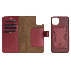 Florence RFID Blocking Leather Wallet Case for iPhone 11