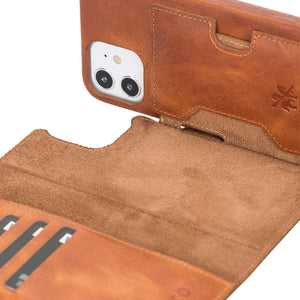 Florence RFID Blocking Leather Wallet Case for iPhone 12