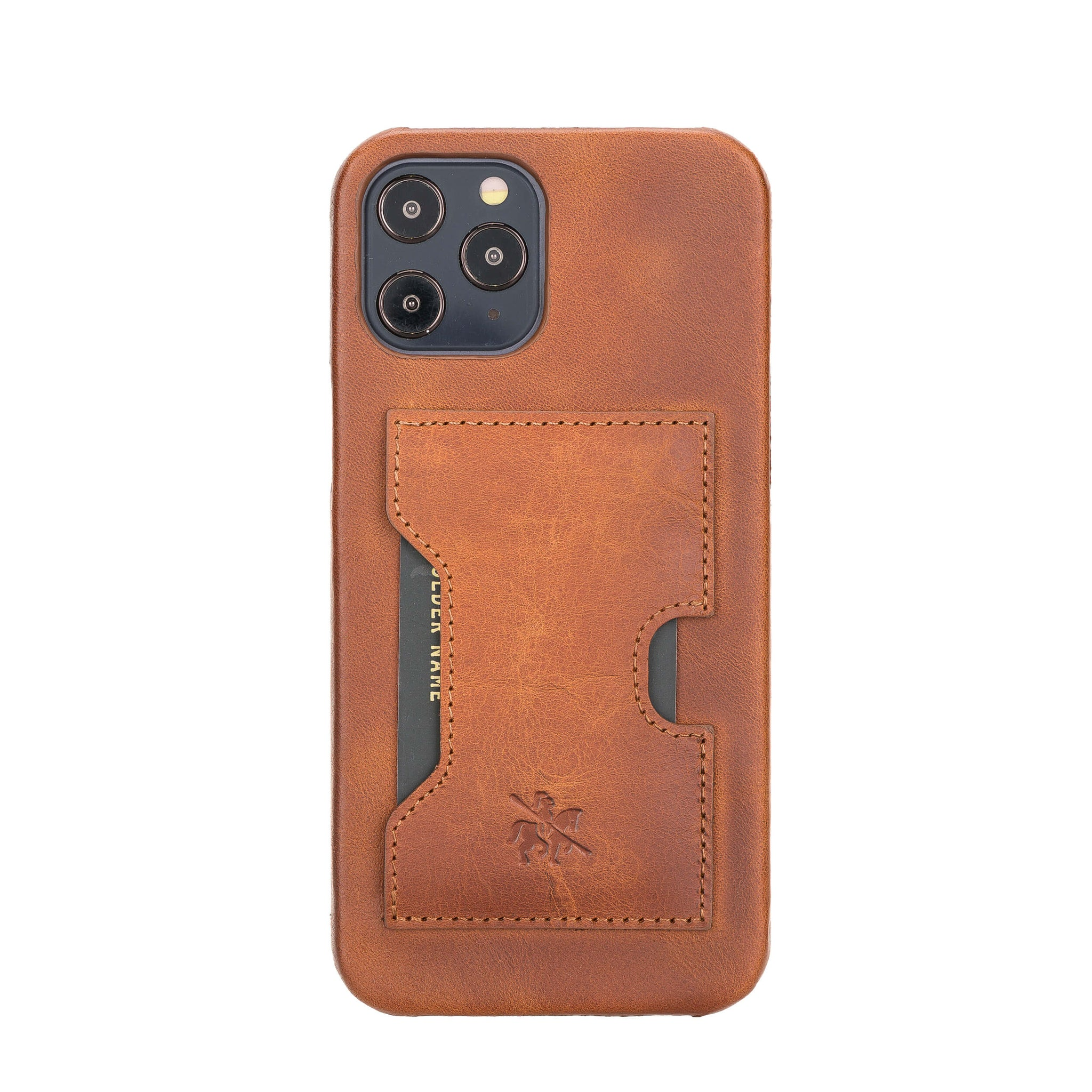 5.4 Free Shipping Iphone 12 Mini Antic Brown Detachable Wallet Case