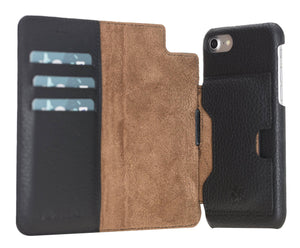 Florence RFID Blocking Leather Wallet Case for iPhone SE 2020