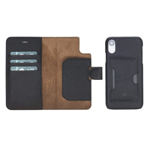 Florence RFID Blocking Leather Wallet Case for iPhone XR